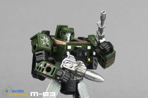 Matrix Workshop M-21 upgrade Kit for Siege Ratchet