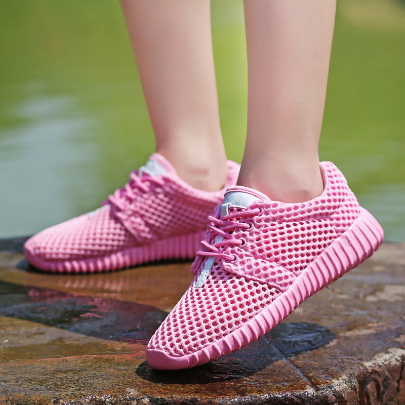 2020 New Mesh Women Flat Shoes Lightweight Women Sneakers Breathable Ladies Casual Shoes Chaussure Femme Calzado Mujer Plus Size 6