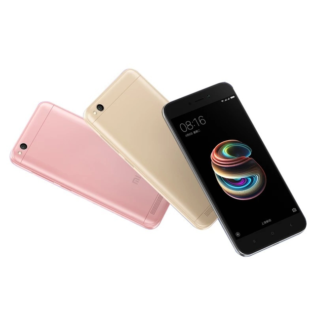 Xiaomi Redmi 5A 4G Smartphone 5.0 inch MIUI 8 Snapdragon 425 Quad Core 1.4GHz 2GB RAM 16GB ROM 13.0MP Rear Camera 3000mAh 2