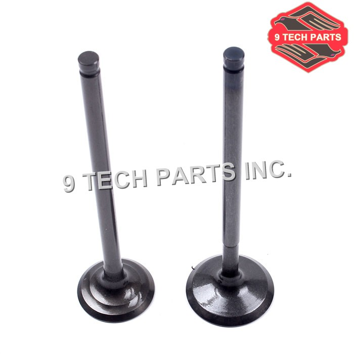 High quality DR125, GN125, LT125, ALT125, GS125 Engine Intake & Exhaust Valves Set 12911-04B00 / 12912-24400 image
