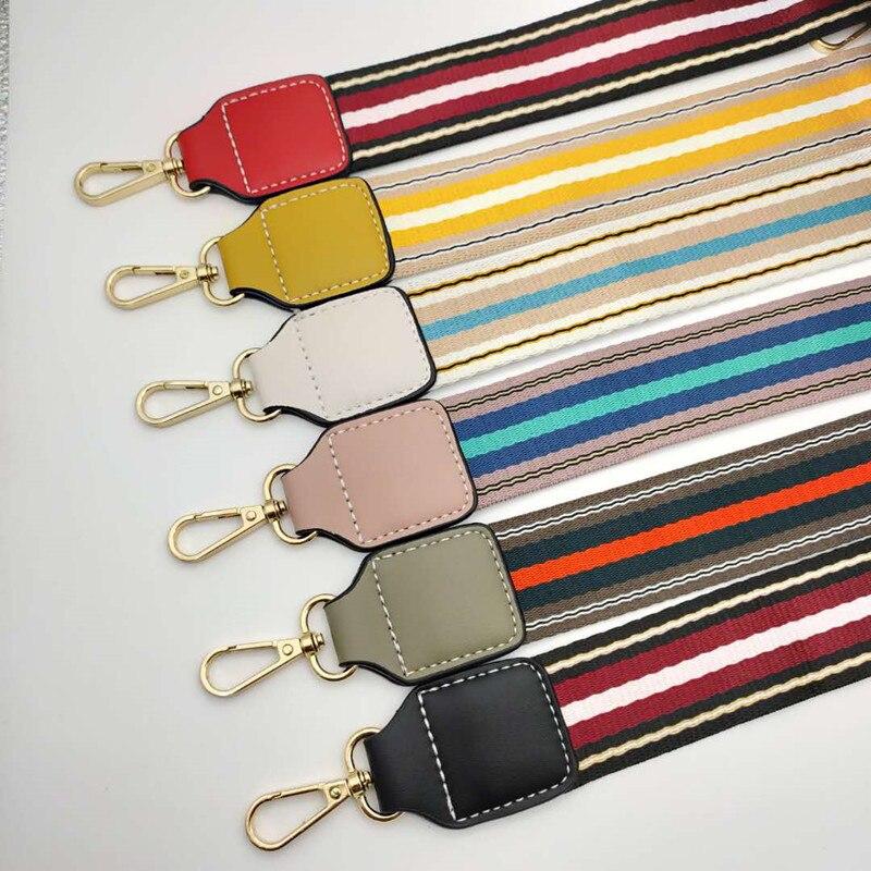 Multicolor Wide Bag Strap Handbag Shoulder Bag Belt Strap Unisex DIY Replacement Strap Bag Accessories Obag Handle Belt For Bags