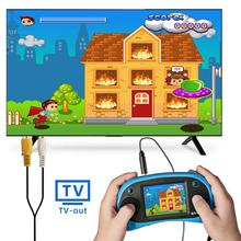 RS-8X 16Bit Video Games Player QINGSHE Portable Handheld Game Console Retro Classic AV Output Gaming System Built-in 42 HD Games