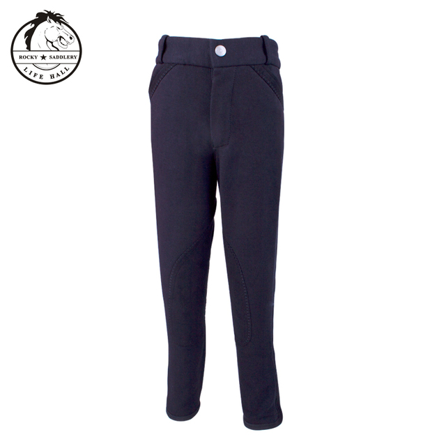 Cavassion children's breeches, children's riding pants, stretchy, soft and breathable  3