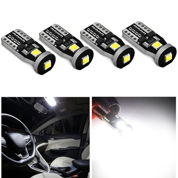 4x T10 LED W5W 194 168 Error free LED Bulb Clearance Parking Light For BMW E90 E60 Mini Cooper R56 Mercedes Benz W203 W211 W204 image