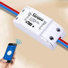 WiFi Wireless Smart Switch Module ABS Shell Socket for DIY Home Kitchen Wirelesssocket Remotecontrol
