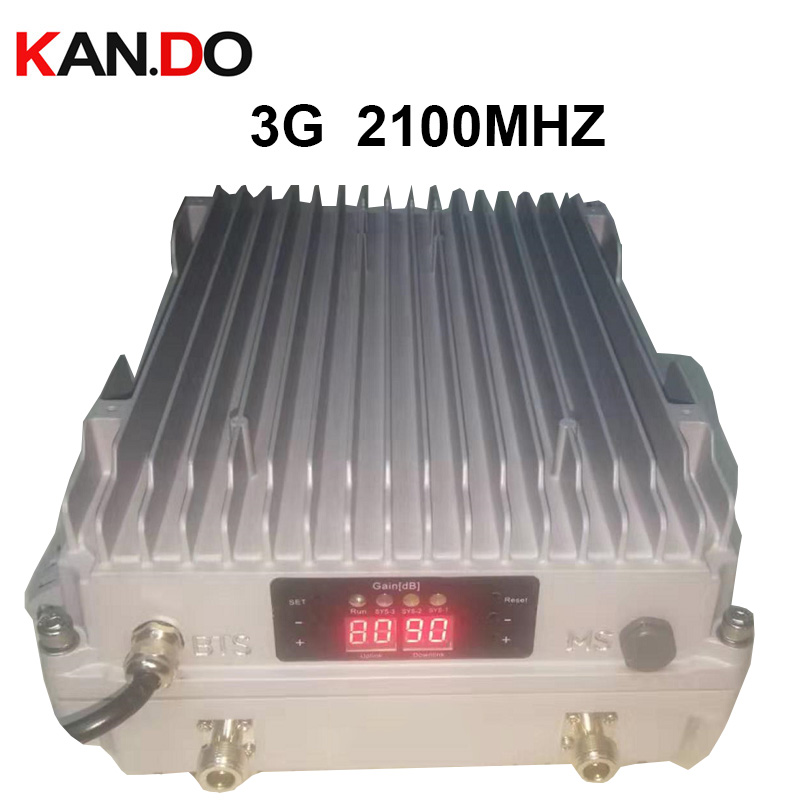 professional BTS base station use OUTDOOR Booster 5W 3G booster 3g repeater 2100Mhz repeater ODM booster wcdma