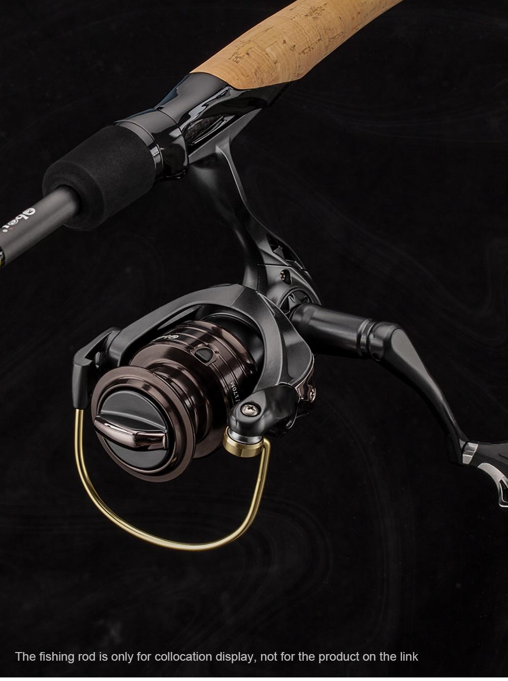 2000H 5+1 Bearing Freshwater  Max Drag 8KG Carp Fishing Reel