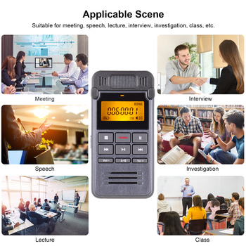 One-Button Recording Voice-Activated Support Recording  6