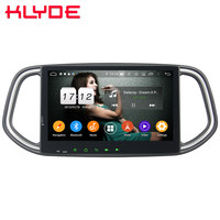 Klyde 10.1 IPS 4G WIFI Android 9.0 Octa Core 4GB RAM 64GB ROM DSP BT Car DVD Multimedia Player Stereo GPS For Kia KX3 2014 2018