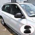 Настоящее углеродное волокно для BMW X5 F15 G05 2014-2019 для BMW X7 G07 2019 зеркало заднего вида крышка отделка автомобильные аксессуары
