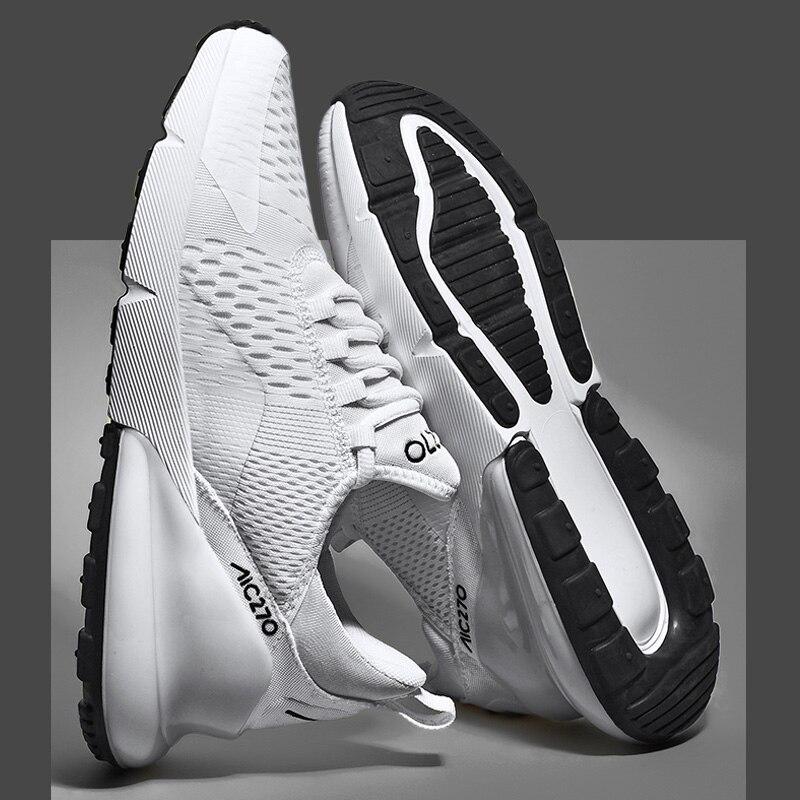 H183acf847e8c42559d2610d552c0faa4l Fashion Men Casual Shoes 2019 brand sneakers men Lightweight Lace-up Walking Sneakers trainer Male Footwear plus size 39-47