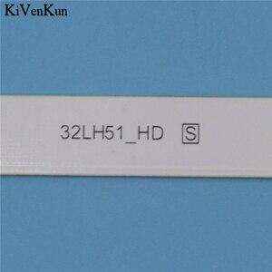 Image 3 - Новинка, 5 ламп, светодиодный фонарь с подсветкой для LG 32LH602D 32LH602U 32LJ600B 32LW300C 32LX300C 32MB17HB, комплект для баров, светодиодный телевизор