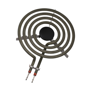 """Image 1 - 1500W 230V 6"""" Range 304 Stainless Cooktop Stove Replacement Surface Burner 4 Rings Pancake Coil Shape Heater Tube with Tripod"""