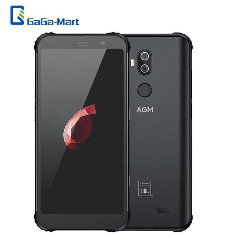 AGM X3 頑丈な 8/6 ギガバイト + 256/128/64 ギガバイト防水 5.99 インチの Snapdragon 845 8  コアの携帯電話アンドロイド 8.1 24MP 4100mAh 4 3g スマートフォン  グループ上の 携帯電話 & 電気通信 からの 携帯電話 の中 1