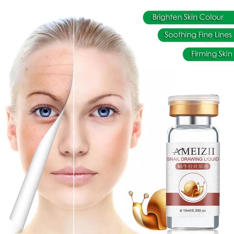 Anti-Aging Snail Essence Serum Hyaluronic Acid Essence Whitening Spot Moisturising Serum Oil-control Nutrition Face Serum TSLM1