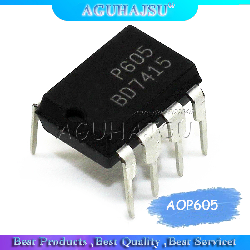 10pcs/lot  P605 AOP605  DIP-8