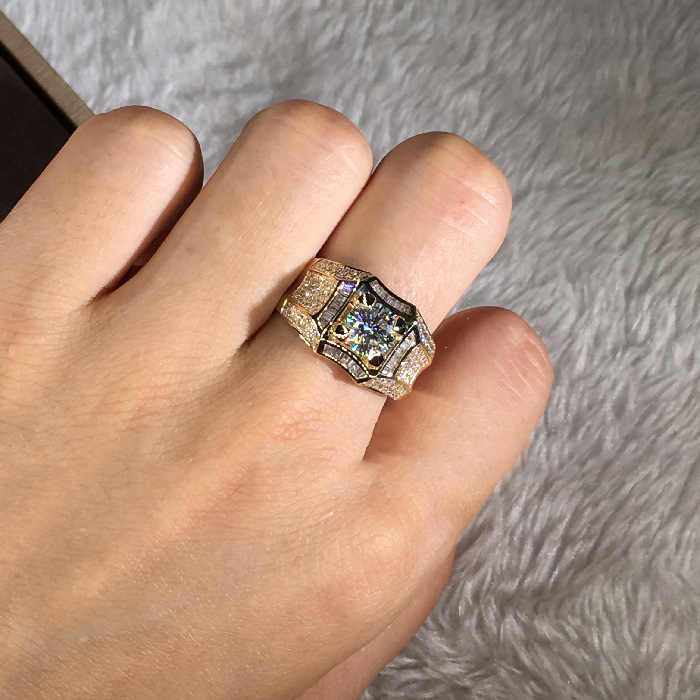 BAGUE CAMEE VINTAGE in 14-carat gold and Silver 925