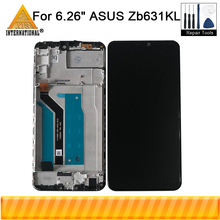 "Original Axisinternational For 6.26"" Asus Zb631KL LCD Display Screen Touch Panel Digitizer With Frame For Asus Zb631KL Display"