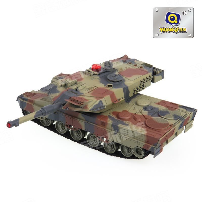 Huanqi 516 Battle Tanks Toy Car Remote Control Charge Electric Tank Large Children Boy Birthday Gift