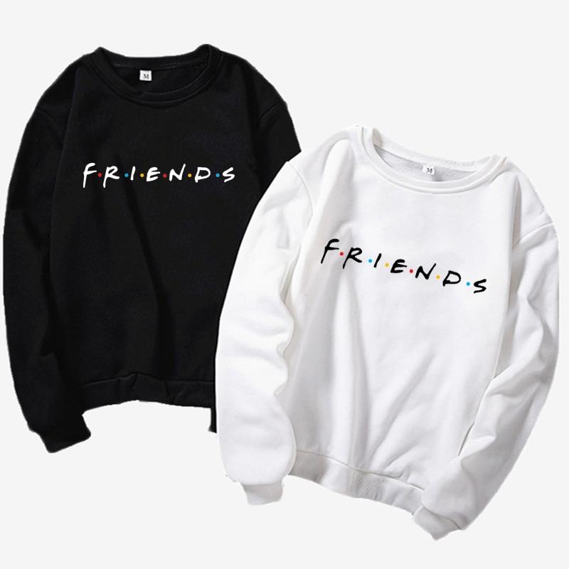 Best Friend Forever Hoodies Friends Sweatshirt Tv Show Gift Best Friend Gift Tumblr Pullover 90s Fleece Grunge Jumper