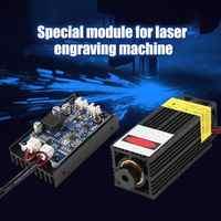 450nm 15 w módulo do laser w suporte do fã do dissipador de calor ttl pwm para o gravador do laser diy j 450nm 15 w módulo do laser suporte do fã do dissipador de calor