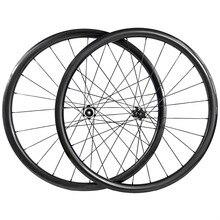 Супер легкие 27,5 er clicher бескамерные прямые тяговые колеса для горных велосипедов 650B XC углеродистой колесной Набор 30 мм UD 3K 12K Powerway M32 ступицы