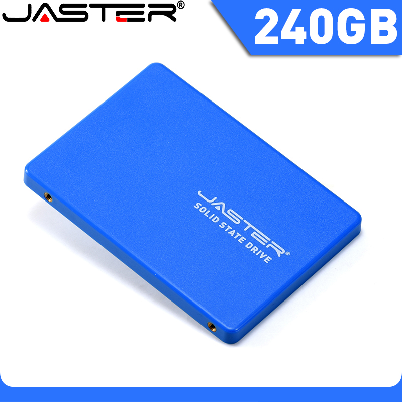 JASTER SSD 2.5'' SATA3 HDD SSD 240GB Internal Solid State Hard Drive Hard Disk For Laptop Desktop