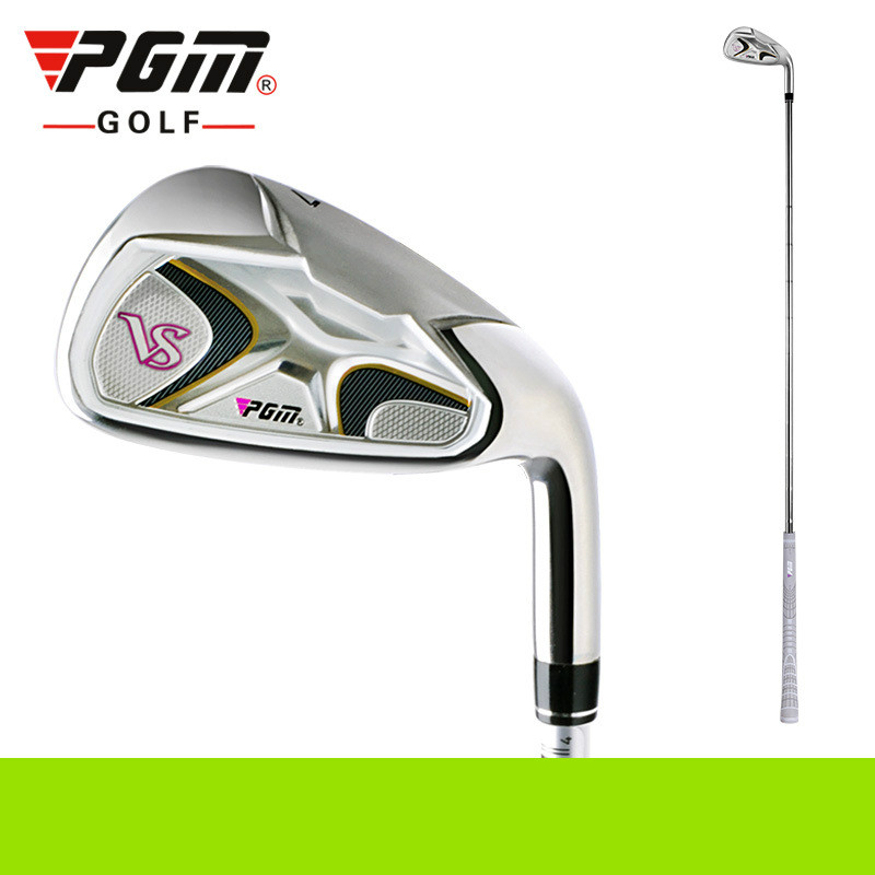 PGM Golf Club No 7 Fer D'acier Au Carbone de rod Organes pour Filles Apprennent Intérieur et Externe Appareils D'exercice Clubs TiG005