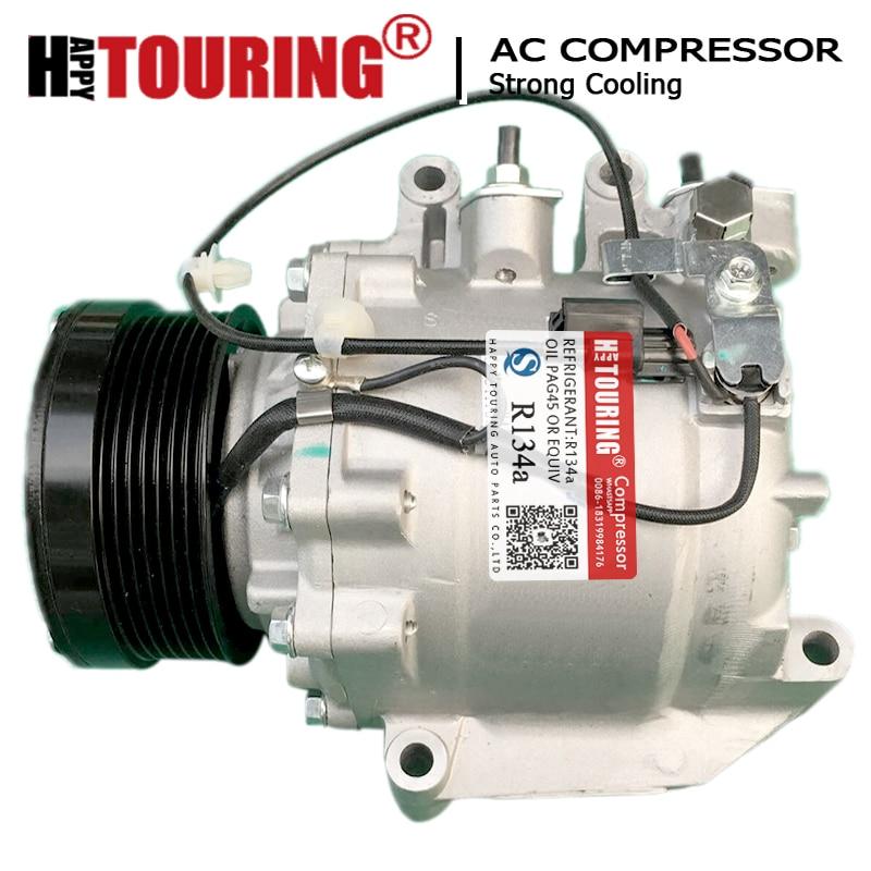 TRSE07 AC Compressor For Honda Civic L4 1.8L 2006 2007 2008 2009 2010 2011 38810RNAA02 38810RRBA01 38800-RNA-A010M2 4901 4918