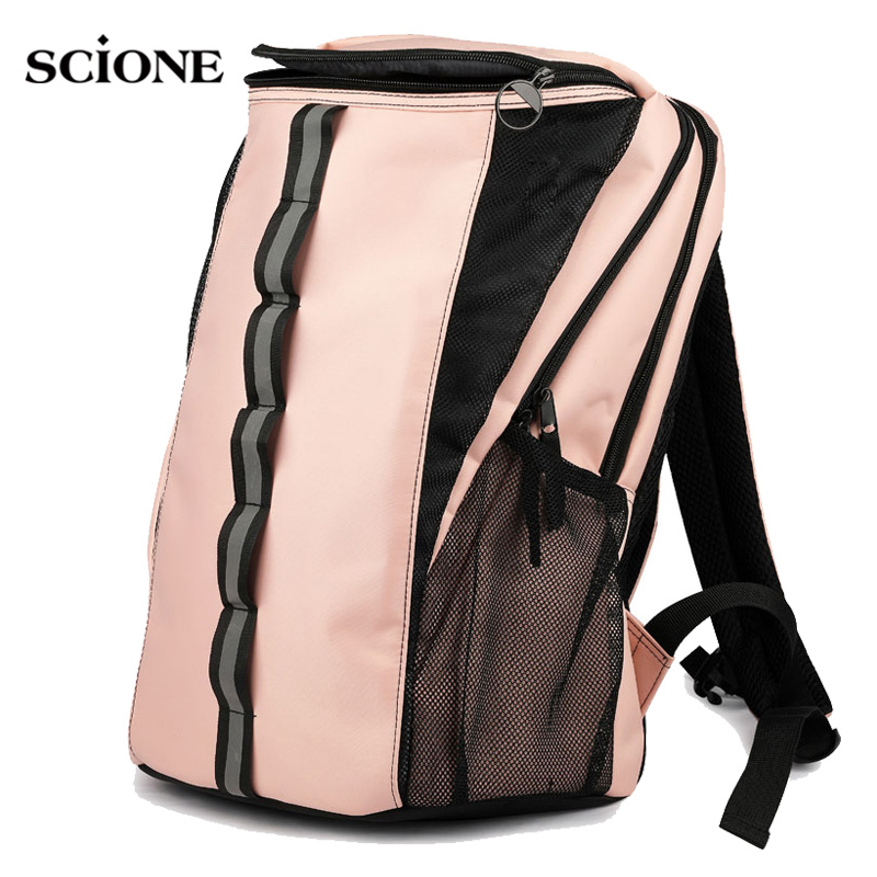 Sack Fitness Gym Bag Yoga Backpack Training Sports Bags Gymtas For Women Sac De Sport Tennis Badminton Dry Wet Rucksack XA636WA