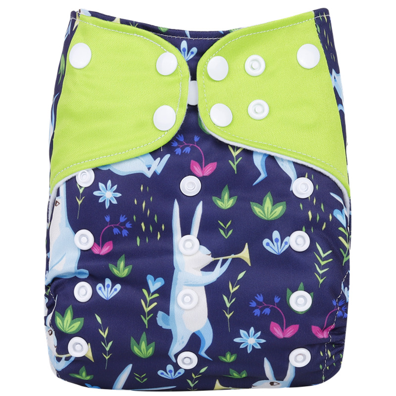 [Simfamily] 1 шт. многоразовые тканевые подгузники, регулируемые детские подгузники, моющиеся подгузники, подходят для 3-15 кг детские подгузники - Цвет: NO25