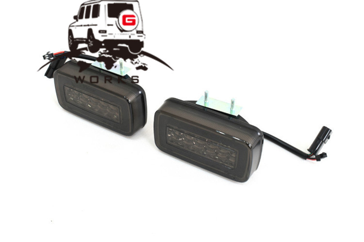 rear bumper LED W463 (10)