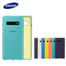 Funda Original para Samsung Galaxy S10, carcasa trasera de silicona líquida para Samsung Galaxy S10, S10 Plus, S10e