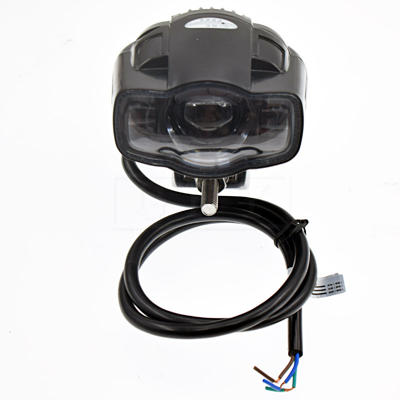ER6N Motorcycle For Kawasaki <font><b>Ninja</b></font> 250 <font><b>300</b></font> ER6N Universal Motorcycle Car <font><b>headlight</b></font> lamp <font><b>LED</b></font> Super Bright Fog light USB Charger image