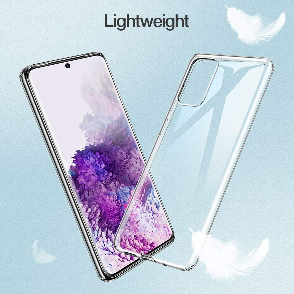 High Quality Clear Case for Samsung Galaxy S20 S21 Plus Ultra FE Silicone Soft TPU Phone Back Funda S20Plus S21Ultra S20FE S21FE