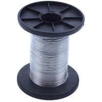 30M 304 Stainless Steel Wire Roll Single Bright Hard Wire Cable  0.3Mm|Lifting Tools & Accessories| |  -