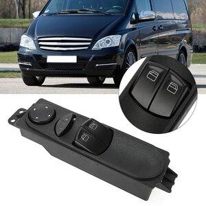 Interruptor eléctrico de Control de ventana Maestro de potencia A6395450913 para Mercedes Benz W639 Vite 2003-2015 piezas de repuesto
