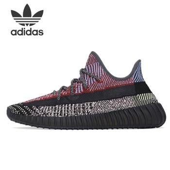 Adidas Originals Yeezy Boost 350 V2 Yeezreel Yansıtıcı Ayakkabı Kadınlar Spor Ayakkabılar Rahat SneakerMen Erkek Koşu Ayakkabıları FX4145