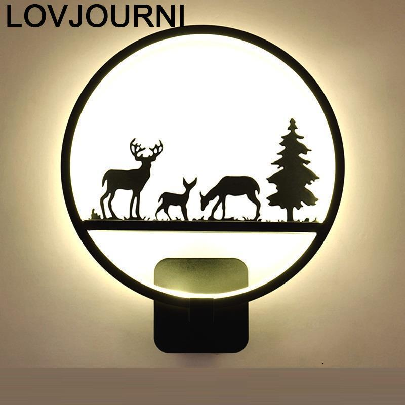 Kinkiety Luminaria Industrial Decor Aplik Lamba Lamp Led Aplique Luz Lampara De Pared Interior Wandlamp Bedroom Wall Light