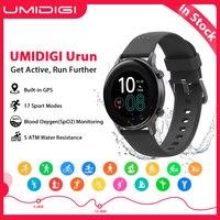 UMIDIGI-reloj inteligente Urun, deportivo, resistente al agua hasta 5atm, con GPS, control del ritmo cardíaco y del sueño, para Android IOS, 1,1