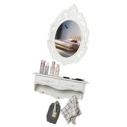 Europejski nowoczesny minimalistyczny mały apartament mini toaletka ścienna lustro ogród toaletka do sypialni na