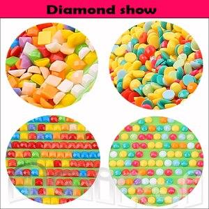 "Image 4 - 3pcs/set,5D diy diamond embroidery""Clowns""full square diamond painting abstract Cross Stitch Rhinestone mosaic child room decor"
