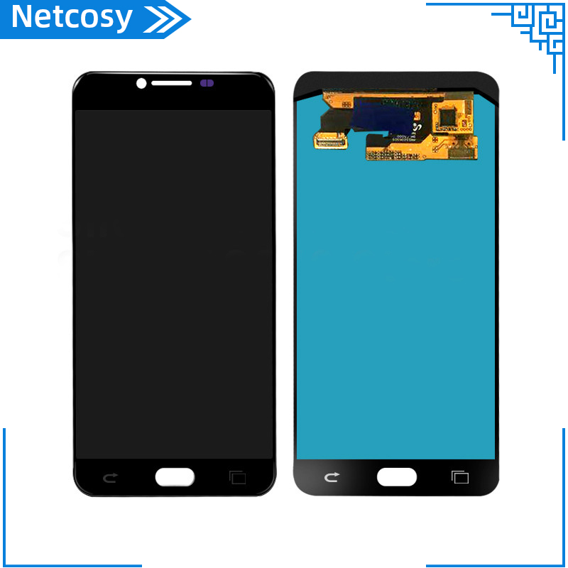 LCD Screen Assembly For Samsung Galaxy C5 LCD Touch Digitizer Screen Assembly Repair Part For Samsung Galaxy C5 Replacement Part