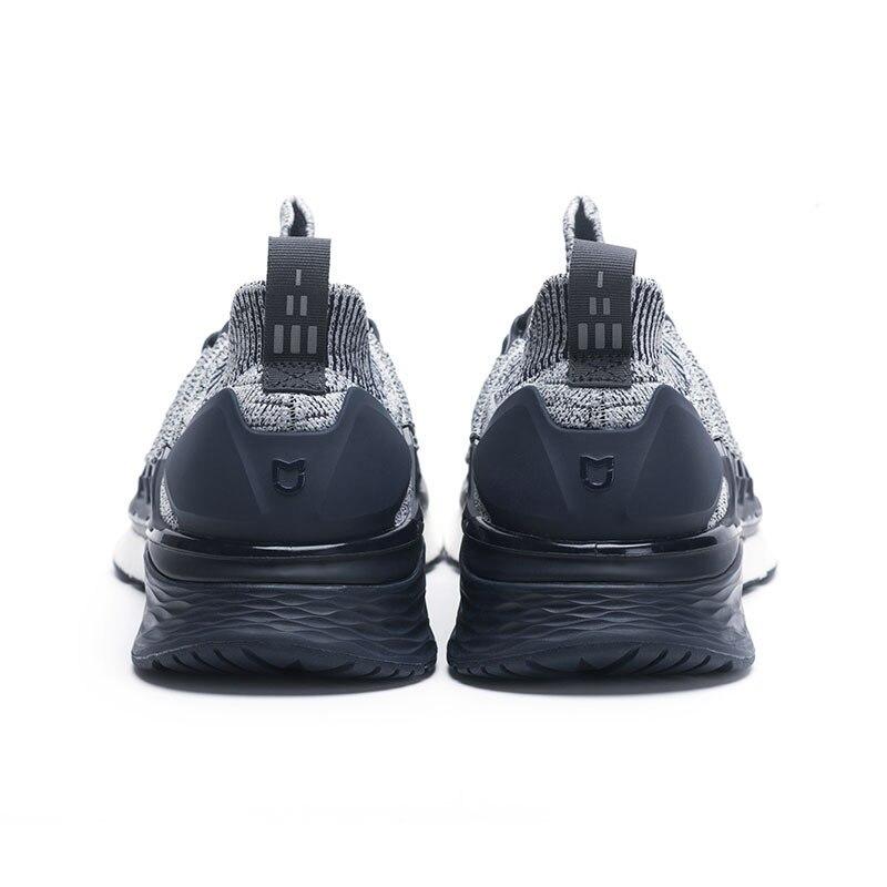 Baskets originales Xiaomi Mijia 3 hommes Sports de plein air Uni-moulage 3D système de verrouillage en arête de poisson tricot hommes supérieurs chaussures de course - 2