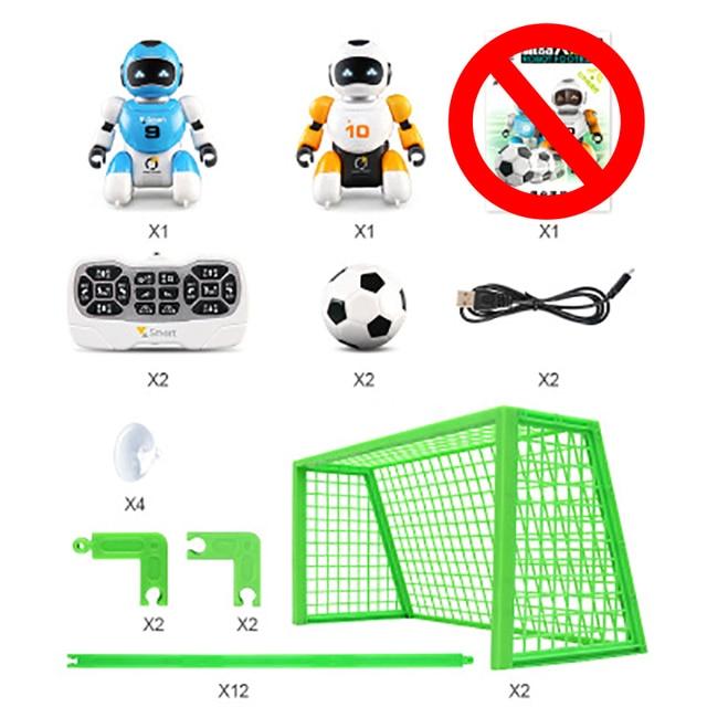 روبوت لعبة كرة القدم ، برمجة ذكية ، محاكاة رياضية مع موسيقى ، روبوت ai ، لغز ، تعليم مبكر ، روبوت rc 6