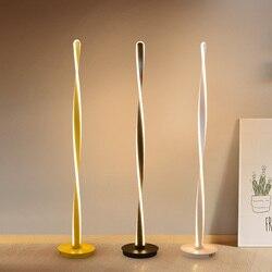 Prostota w stylu nordyckim lampa led podłogowa nowoczesne minimalistyczne lampy stojące do salonu sypialnia Bar stół biurowy lampa stojąca lampa