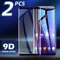 Screen Protector Voor Samsung Galaxy S8 S9 S10 S20 Plus S21 Smartphone Gehard Glas Samsung Note 10 20 Ultra Beschermende glas