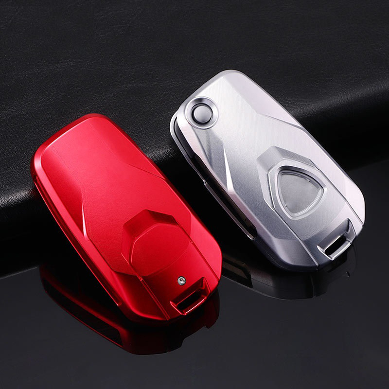 Aluminum Alloy Start Remote Control Package Key Case Holder For Ducati MTS1200 Xdiiavel 2016 2017 2018