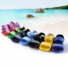 2-8Y Kids Sandal Baby Boys Girls Summer Beach Flat Casual Sandals Children Shoes(China)