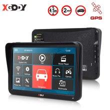 XGODY 9 pouces Bluetooth voiture Gps Navigation tactile écran capacitif affichage avec AV-IN 256 mo RAM 8GB ROM camion GPS navigateur 2020